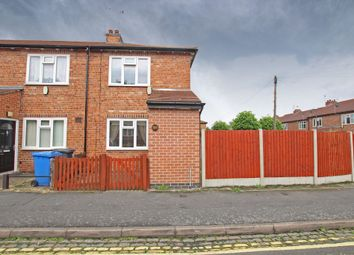 Thumbnail 2 bedroom end terrace house for sale in Marlborough Road, Derby, Derbyshire