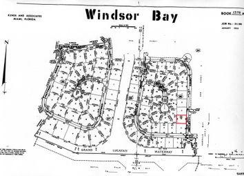 Thumbnail Land for sale in Windsor Bay, Grand Bahama, The Bahamas