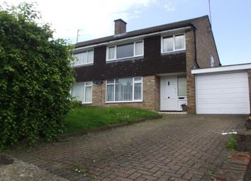 Thumbnail 3 bedroom property to rent in Cottingham Grove, Bletchley