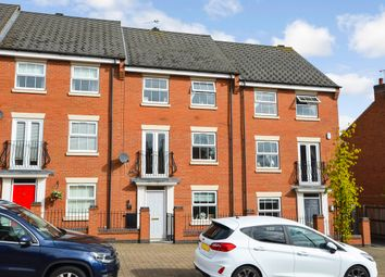 Thumbnail 4 bed town house for sale in Longstork Road, Coton Park, Rugby