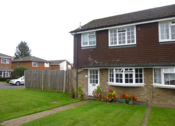 Thumbnail 3 bed semi-detached house to rent in Ash Lodge Close, Ash, Surrey