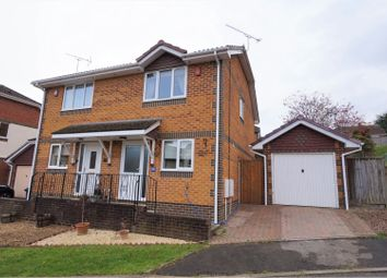 Thumbnail 2 bed semi-detached house for sale in Lytchett Drive, Broadstone