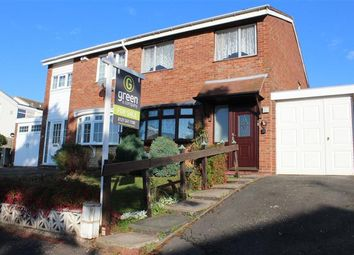 Thumbnail 3 bedroom semi-detached house for sale in Swallow Avenue, Smiths Wood, Birmingham