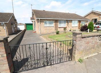 Thumbnail 2 bedroom semi-detached bungalow for sale in Arkwright Road, Irchester, Wellingborough