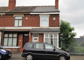 Thumbnail 3 bed end terrace house for sale in Cemetery Road, Willenhall, Walsall, West Midlands