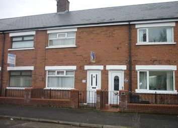 Thumbnail 2 bed terraced house to rent in Woodcot Avenue, Belfast