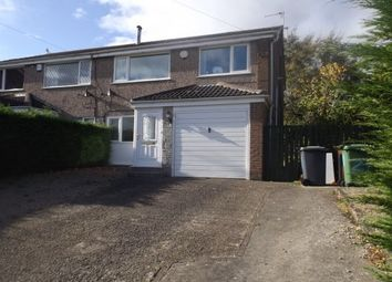 Thumbnail 3 bed semi-detached house to rent in Kenworthy Gardens, Adel, Leeds