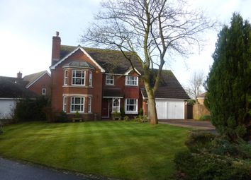 Thumbnail 4 bed detached house for sale in Winsford Close, Balsall Common, Coventry