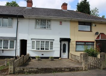 Thumbnail 3 bed terraced house to rent in Hurlingham Road, Kingstanding, Birmingham