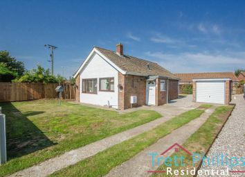 Thumbnail 2 bed detached bungalow for sale in Pyghtle Close, Trunch, North Walsham