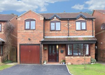 Thumbnail 4 bed detached house for sale in Wood End, Atherstone, Warwickshire