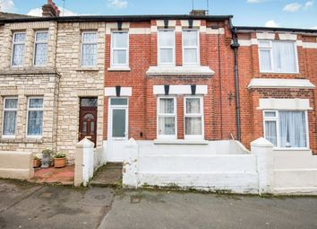 Thumbnail 3 bed terraced house for sale in Salisbury Road, Bexhill-On-Sea