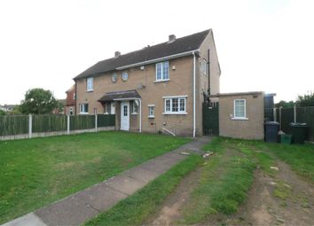 Thumbnail 2 bed semi-detached house for sale in Smillie Road, Rossington, Doncaster, South Yorkshire