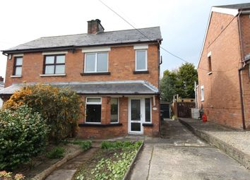 Thumbnail 2 bed semi-detached house for sale in Knockmore Park, Carrickfergus