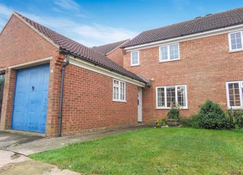 Thumbnail 3 bed semi-detached house for sale in Hawesmere Close, Biggleswade