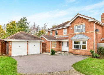 Thumbnail 4 bedroom detached house for sale in Lilleshall Drive, Elstow, Bedford