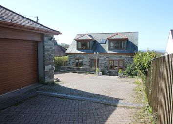 Thumbnail 5 bed detached house for sale in Wotter, Plymouth