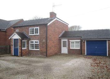 Thumbnail 2 bed detached house for sale in Stock Lane, Shavington, Crewe
