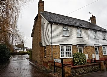 Thumbnail 3 bed semi-detached house for sale in West Street, Maidstone