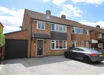 Thumbnail 3 bed semi-detached house for sale in Robincroft Road, Allestree, Derby
