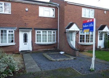 Thumbnail 2 bed terraced house to rent in Sunlea Crescent, Stapleford