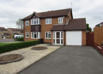 Thumbnail 3 bedroom semi-detached house to rent in Mablowe Field, Wigston