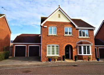 Thumbnail 4 bed detached house for sale in Monmouth Grove, Kingsmead