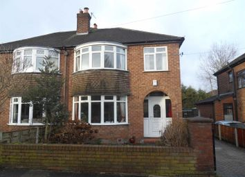 Thumbnail 3 bedroom semi-detached house to rent in Millford Avenue, Flixton, Urmston, Manchester