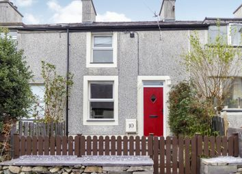 Thumbnail 2 bed terraced house for sale in Hill Street, Gerlan, Bethesda, Bangor