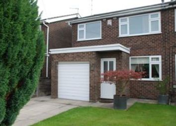 Thumbnail 3 bedroom semi-detached house to rent in Roseacre Drive, Heald Green, Cheadle