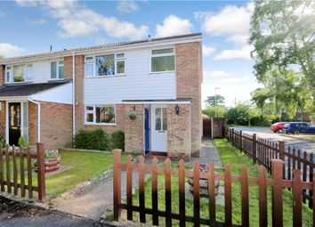 Thumbnail 3 bed end terrace house for sale in Hogarth Close, Romsey, Hampshire