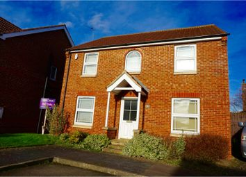 Thumbnail 4 bed detached house for sale in Cordeaux Close, Gainsborough