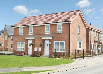 Thumbnail 2 bed semi-detached house to rent in Runnymede Lane, Kingswood, Hull