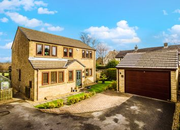 Thumbnail 4 bed detached house for sale in Fox Royd, Shepley, Huddersfield