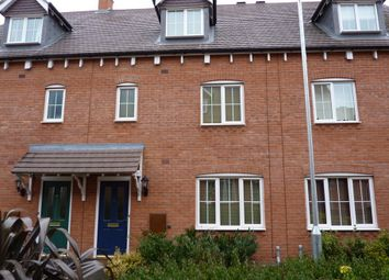 Thumbnail 4 bed town house to rent in Paddock Way, Hinckley, Leicestershire