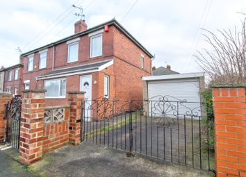 Thumbnail 3 bed semi-detached house for sale in Russell Road, Kilnhurst, Mexborough
