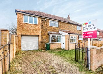 Thumbnail 4 bed semi-detached house for sale in Hellaby Hall Road, Hellaby, Rotherham