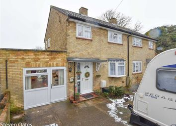 Thumbnail 3 bed semi-detached house for sale in Tanners Way, Ware, Hertfordshire