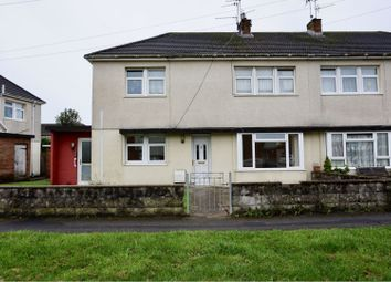 Thumbnail 2 bed flat for sale in Heol Degwm, North Cornelly