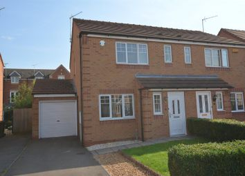 Thumbnail 3 bed semi-detached house for sale in Kyle Road, Hilton, Derby