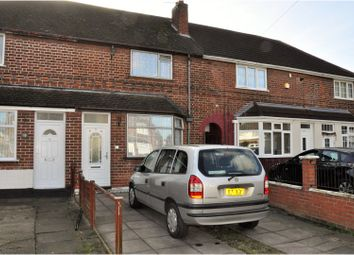 Thumbnail 3 bed town house for sale in Rotherby Avenue, Leicester