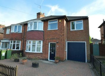 Thumbnail 4 bed semi-detached house for sale in Kirkland Road, Braunstone, Leicester
