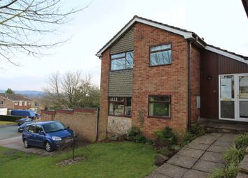 Thumbnail 3 bed link-detached house for sale in Fernwood Drive, Leek, Staffordshire