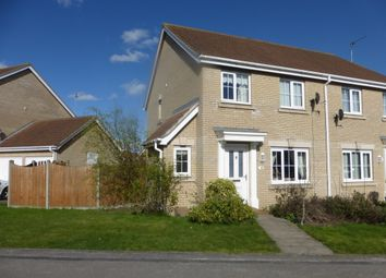 Thumbnail 3 bed semi-detached house for sale in Foxglove Way, March