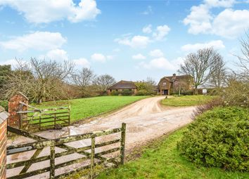 Thumbnail 5 bedroom detached house for sale in Church Lane, Pilley, Lymington, Hampshire