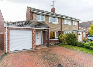 Thumbnail 3 bed semi-detached house for sale in Kelsey Crescent, Cherry Hinton, Cambridge