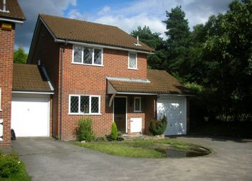 Thumbnail 3 bed detached house to rent in Laird Court, Bagshot
