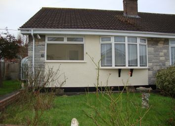 Thumbnail 2 bed detached bungalow to rent in Blenheim Close, Weston Super Mare