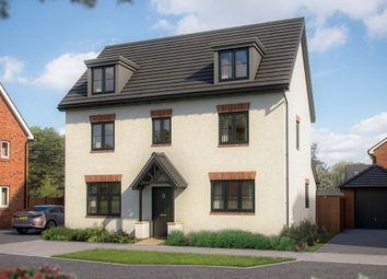 "Thumbnail 5 bed detached house for sale in ""The Yew"" at Shorthorn Drive, Whitehouse, Milton Keynes"