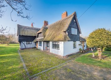 Thumbnail 4 bedroom detached house for sale in Brent Eleigh, Sudbury, Suffolk